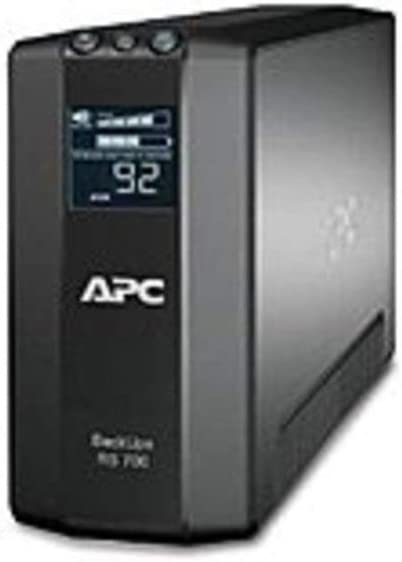 APC BR700G Back-UPS RS Line Interactive Master Control UPS - 700 VA/450 Watts - Black (Renewed)