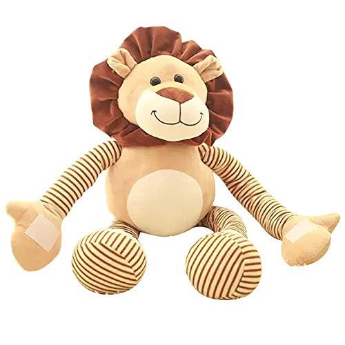 N / A 45CMpp Baumwolle Schöne Tier Gefüllte ToyDoll Baby Plüschtiere Hände und Füße können gestreckt Werden Löwe Geburtstagsgeschenk für Kinder 45CM