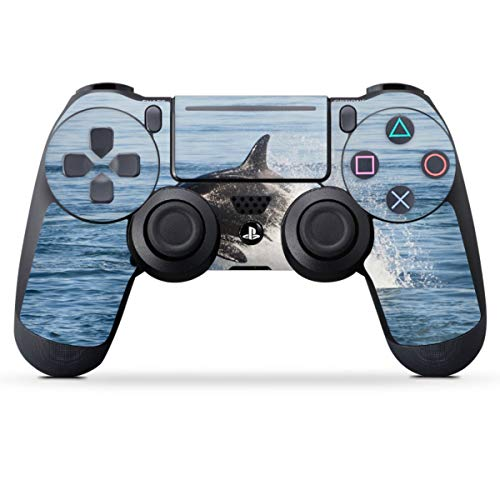 DeinDesign Skin kompatibel mit Sony Playstation 4 PS4 Pro Controller Folie Sticker Orca Wal Meer