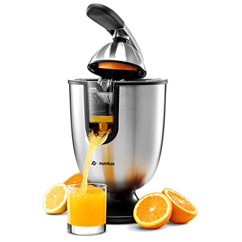Eurolux ELCJ-1700 Electric Citrus Juicer Squeezer, for Orange, Lemon,...