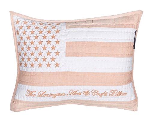 Lexington 20201516002 Kissen, Baumwolle, Rosa, 40 x 30 x 15 cm