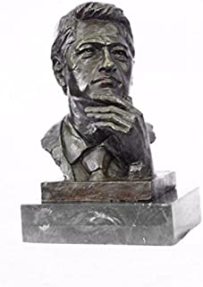 Stunning President Clinton Oval Office Bronze Sculpture