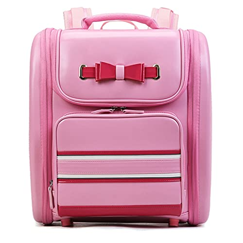 Generic Fashion School Bags for Boy Girl Children Backpack Japanese Style Student Bag Pink