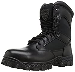 "Rocky Men's Alpha Force 8"" Side Zip Work Boot"