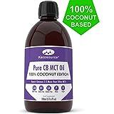 C8 MCT Aceite Puro | 100% Coconut | Produce 3 X Más Cetonas Que Otros MCT...