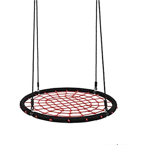 Columpio Nido Redonda, Columpio Jardín φ100 cm Columpio de Árbol hasta 150 kg Columpios Infantiles para Niños y Adultos,Red