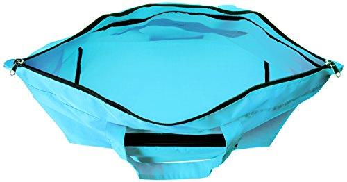 [ノーマディック]トートバッグFoldingbag折りたたみエコバッグトートワイド型21ℓトラベル撥水FO-35水色