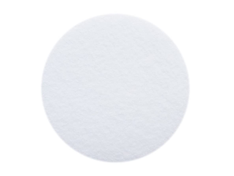 YYCRAF 50 Soft Thick 3 inch Felt Circles-White