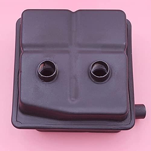 Silenciador Exhuast, piezas de muesca superior para Stihl HS81 HS81R HS81T HS86 HS86R HS86T cortasetos OEM # 4237140 0600 Piezas de repuesto