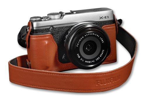 Fujifilm Half Case Camera Case X-E1 / X-E2 / X-E2S (Brown)