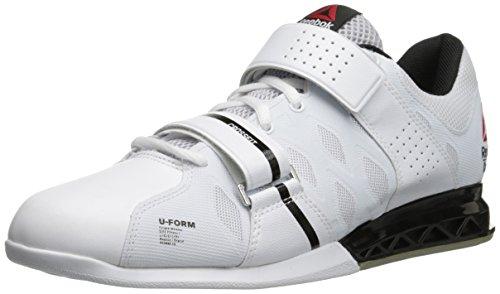 Reebok Women's Crossfit Lifter Plus 2.0 Cross-Trainer Shoe, White/Black/Porcelain, 9 M US