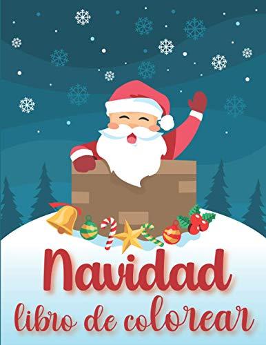Navidad Libro de colorear: 🎅 30 dibujos para colorear para niños de 3 a 7 años 🎅