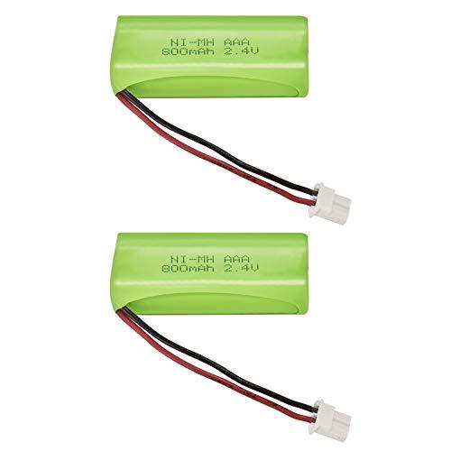シャープ SHARP M-003 Panasonic BK-T406 コードレス電話機 子機用充電池 互換予備電池 M-003・-086・HBT500同等品 大容量 800mAh コードレスホン 互換電池 2個セット 2年間メーカー保証