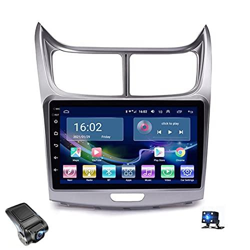 Android 10 Car Radio, Para Chevrolet SAIL 2010-2013 Soporte Reproductor De Video Multimedia Estéreo Bluetooth USB WIFI Navegación GPS Autoradio / Control Del Volante / Dash Cams(Color:4G+WIFI 4G+64G)