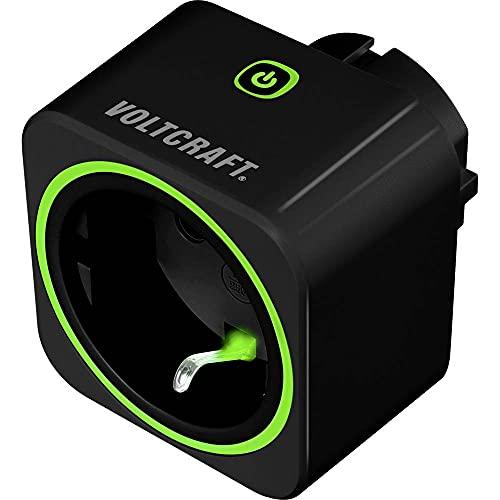 VOLTCRAFT SEM6000 BLACK Energiekosten-Messgerät Bluetooth®-Schnittstelle, Datenexport, Datenloggerfunktion, TRMS, Strom