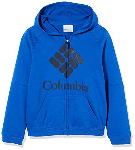 Columbia jongenstrui van French Terry met doorlopende ritssluiting, model Columbia