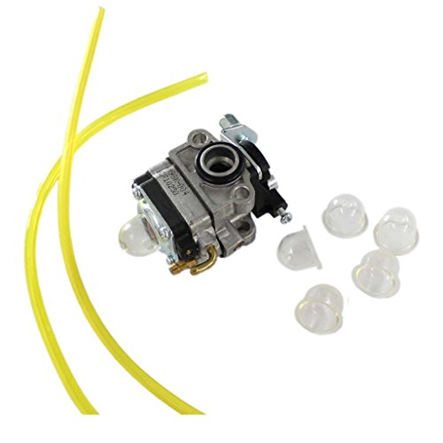 HURI Carburetor Primer Bulb Fuel Line for Craftsman 4 Cycle Mini Tiller 316.292711