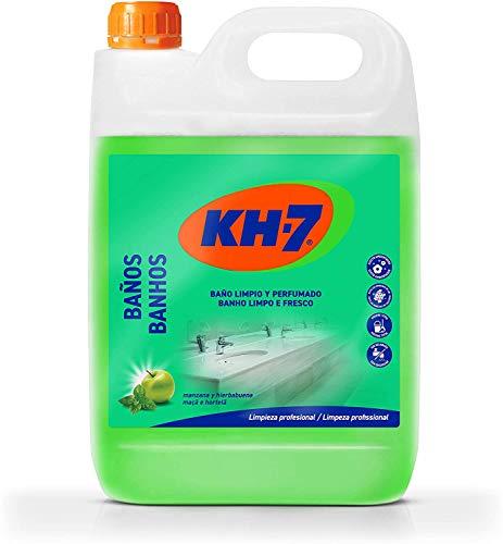 KH-7 Limpiador Baños y Desinfectante - Desinfección sin lejía - Aroma a manzana y hierbabuena