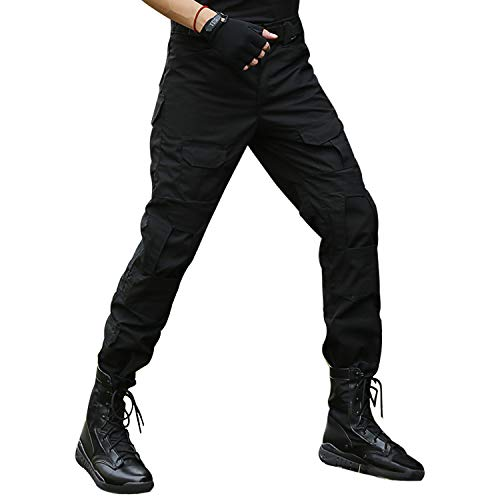 BWBIKE Pantalones Tácticos Militares para Hombres...