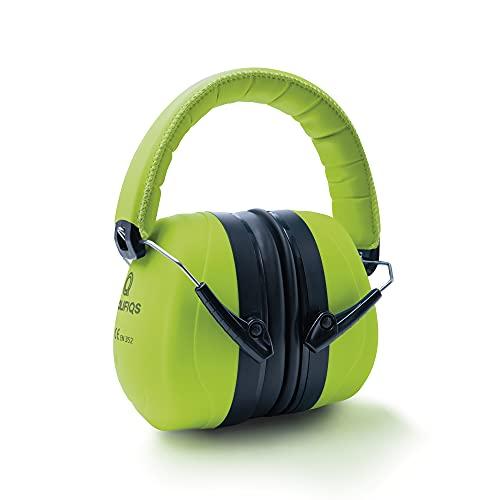 Prolifiqs Gehörschutz für Erwachsene in verschiedenen Farben – getestet bis 98 dB I Lärmschutz Kopfhörer Erwachsene I PVC-freie Lärmschutzkopfhörer für Frauen & Männer I Grün