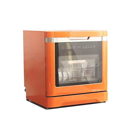 ADKINC 1380 vatios Lavavajillas, lavavajillas de Doble Capa (8 Cubiertos), con Sistema de Secado y 6 programas de Lavado, Interruptor de límite - Armario de desinfección,...