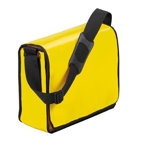 Halfar LorryBag® ECO - Borsa a tracolla giallo Con tasca Laptop
