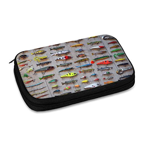 The Best Bait for Fishing Electronic Organizer Small Travel Cable Organizer Bag for Hard Drives,Cables,Charger,Phone,USB,Sd Card