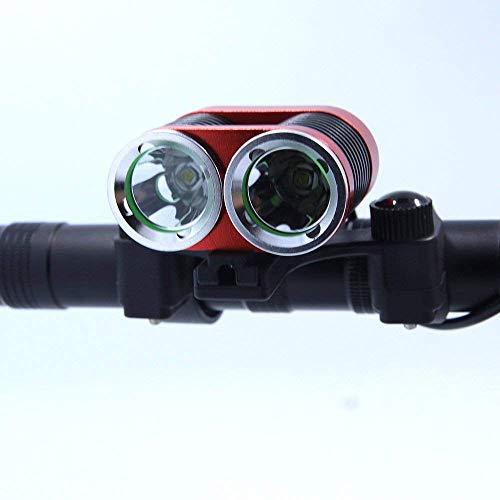 wxqym Luces LED de Bicicletas 2xt6 Led 5000 lúmenes de luz de...