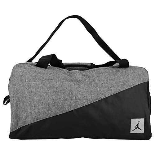 Jordan Grey and Black Duffel Bag 8A0083-023