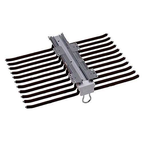Gnova Percha para Pantalones Extraible para Armario(455mm×625mm,22 Brazos) Pantalonero Flocado Extensible,Ahorro de Espacio