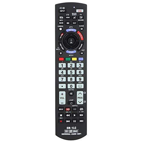 Alkia Universal-Fernbedienung SN-1LC für Sony TV/Learn/HDTV / 3D / LCD/LED, Funktioniert mit Allen Sony Fernsehern (LED, LCD, Plasma)