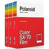 Polaroid Originals SX70 Color Film Triple Pack
