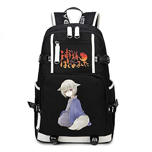Siawasey Anime Kamisama Kiss Mochila de cosplay, mochila de hombro, bolsa de hombro para portátil