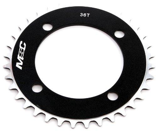 MSC Bikes MSC CNC Alu7075 4 Brazos 104 mm 38D Plato de Ciclismo