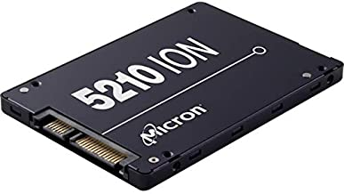 """Micron 5200 5210 Ion 7.68 TB Solid State Drive - SATA 600-2.5"""" Drive - Read Intensive - 0.8 Dwpd - Internal - 540 MB/S Maximum Read Transfer Rate - 360 MB/S Maximum Write Transfer Rate -"""