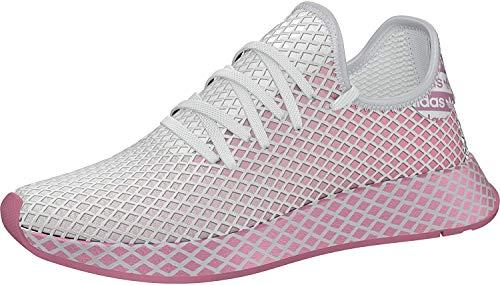 adidas Womens Deerupt Runner Sneaker, True Pink/True Pink/Footwear White, 38 EU