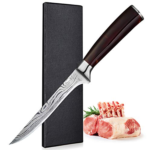 Cuchillo Mango Rojo