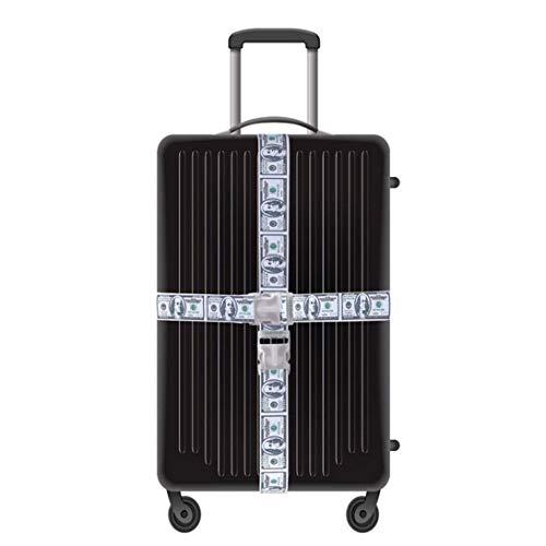 Aohua Handig ontwerp Verstelbare Cross Bagage Riemen Reizen Trolley Koffer Gepersonaliseerde Veilige Verpakkingsriem Onderdelen Accessoires Leveringen Schattig