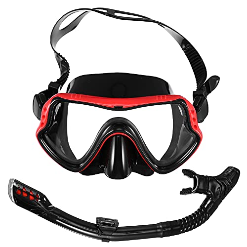 Abaodam 1 Unidades portátil creativo durable Snorkeling Gear Snorkel Snorkel para Snorkeling al aire libre desgaste cara