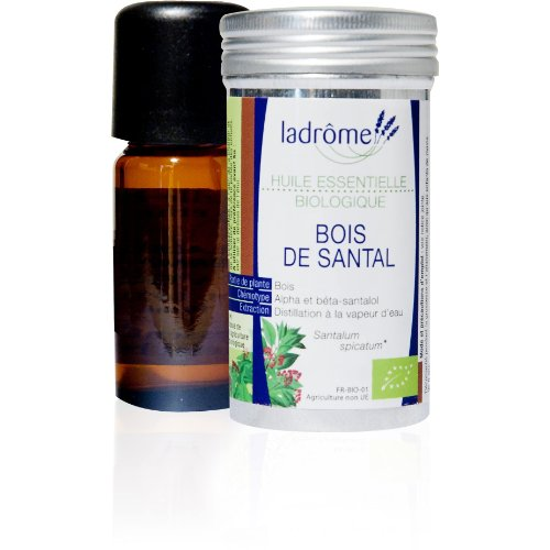 Ladrôme Huile Essentielle Bois de Santal (Santalum spicatum) Bio 5 ml