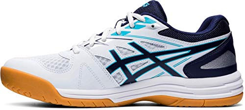 ASICS Mens 1071A053-100_46 Volleyball Shoes, White, EU