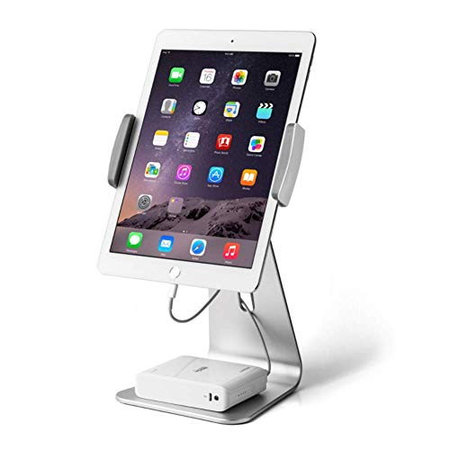 YWT Tablet Stand, 360 graden draaibare aluminium iPad Stand voor 7-13 Inch iPad Pro Air Mini Galaxy Tab Nexus, voor Store Display Office Aanrechtblad