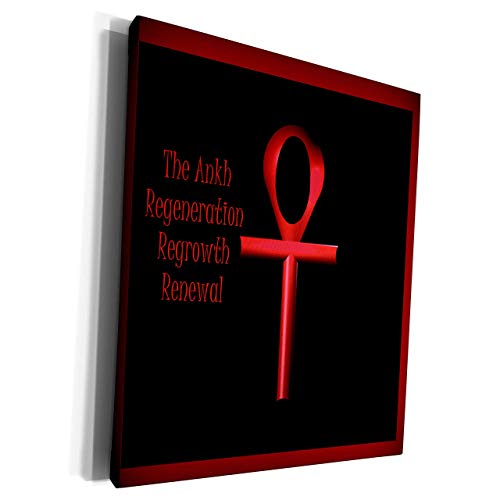 Scott397House Unframe Canvas Printing Wall Art 40x50 Et Photography Art Red Ankh Meaning Regeneration Regrowth and Renewal Framed Canvas Art Picture Print Wall Decoration for Living Room/Bed Room