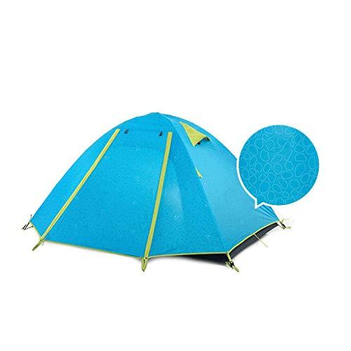 tent Equipo al aire libre 4 personas impermeable, prueba de humedad, control de plagas equipo de camping al aire libre (color: B)