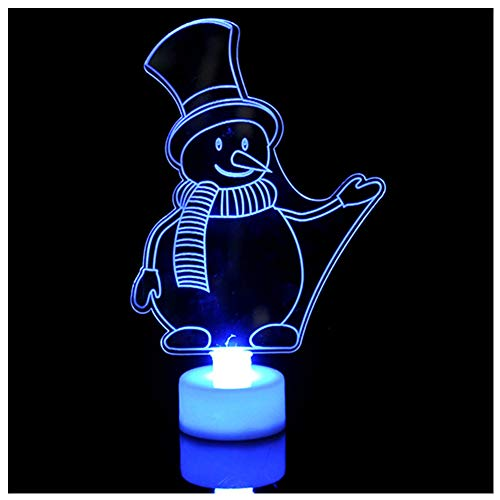 LED Color Changing Mini Christmas Halloween Decorations Xmas Tree Home Table Party Decor Charm Perfect Present for Home, Office, Halloween Christmas 3PCS