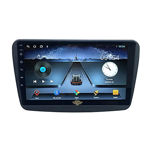 """Ateen Suzuki Baleno 9"""" inch Double din Android car Music System with Navigation/Android Player/Stereo with 1 GB ram/16 GB ROM/Bluetooth/Touch Screen Media Player/Split Screen/Mirror Link Support iOS"""