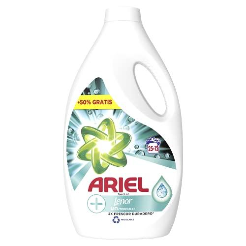 Ariel Detergente líquido 25 + 12 lavados