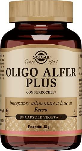 Solgar Hierro Gentle (Hierro bisglicinato), Fácil Absorción, 90 Cápsulas vegetales