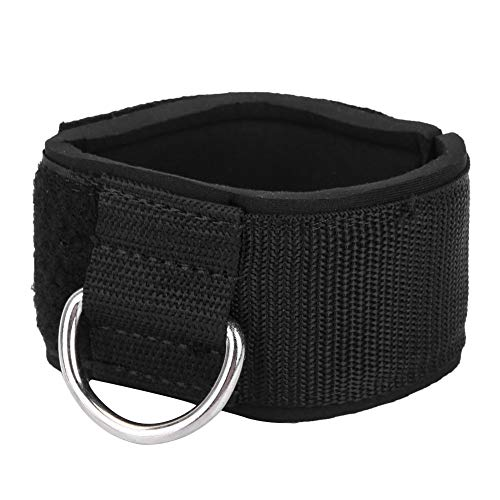 Enkelband, 1 paar Fitness enkelbandjes D-ring enkelboeien Unisex trainingen Nylon enkelband voor kabelmachines Geschikt voor mannen en vrouwen