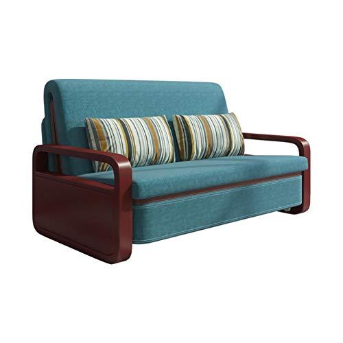 HLZY Divano Letto Sleeper Convertible Lounge Couch futo Divano Letto Pieghevole di Fascia Alta nordica, reclinabile Regolabile Multifunzionale, Letti Divano Letto per Soggiorno (Size : 160cm)